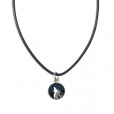 Necklace - Leather with Charm
