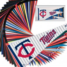 "MLB Dec  Pack, 12""x30"" Carded - 30 Pennants"