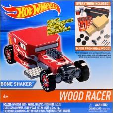 Hot Wheels Wood Racer - Bone Shaker