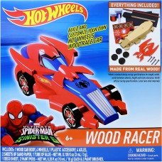 Hot Wheels Wood Racer - Spiderman