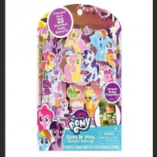 Stick N Play-25 ct - My Little Pony