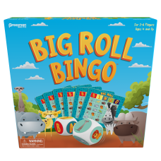 Big Roll Bingo: Safari